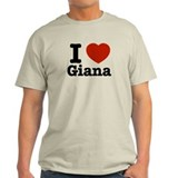 I love Giana T-Shirt