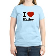I love Hailey T-Shirt