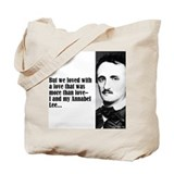 "Poe ""But We Loved"" Tote Bag"
