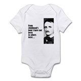 "Poe ""Childhood's Hour"" Onesie"