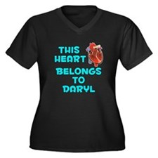 This Heart: Daryl (B) Women's Plus Size V-Neck Dar