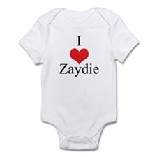 I Love (Heart) Zaydie Infant Bodysuit