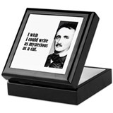 "Poe ""As Mysterious"" Keepsake Box"