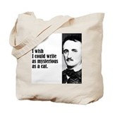 "Poe ""As Mysterious"" Tote Bag"