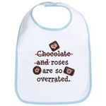 Anti Valentine Chocolate Lover Bib