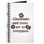 Anti Valentine Chocolate Lover Journal