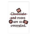 Anti Valentine Chocolate Lover Postcards (Package