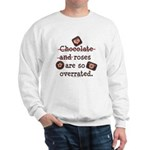 Anti Valentine Chocolate Lover Sweatshirt
