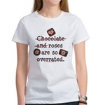 Anti Valentine Chocolate Lover Women's T-Shirt