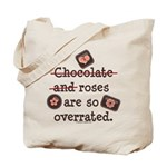 Anti Valentine Chocolate Lover Tote Bag