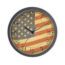 Patriotic Wall Clock
