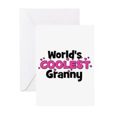 World's Coolest Granny! Greeting Card