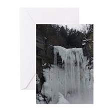 Waterfall Ice Greeting Cards (Pk of 10)