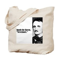 "Poe ""Nevermore"" Tote Bag"