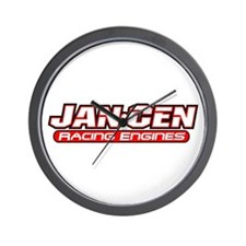 Jan-Cen Racing Engines Wall Clock