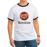 His Valentine Valentine's Day Ringer T