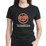 His Valentine Valentine's Day Women's Dark T-Shirt