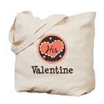 His Valentine Valentine's Day Tote Bag
