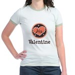 His Valentine Valentine's Day Jr. Ringer T-Shirt