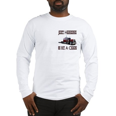 Just Hanging In By A Chain Long Sleeve T-Shirt