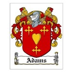 Adams Family Crest Small Poster