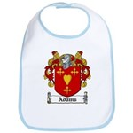 Adams Family Crest Bib