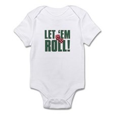 LET EM ROLL Infant Bodysuit