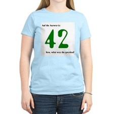 HH Guide - The answer is 42 - Women's Pink T-Shirt