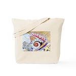 Moon and Sea Shells Tote Bag