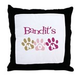 Bandit's Mom Throw Pillow