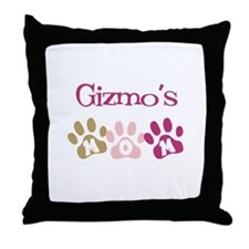 Gizmo's Mom Throw Pillow