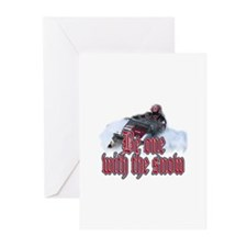 Be One With The Snow Greeting Cards (Pk of 10)