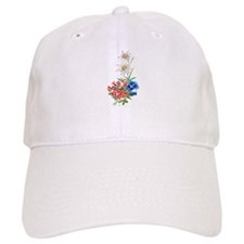 Alpine Flowers Baseball Cap