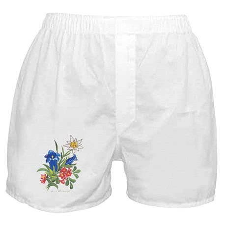 Alpine Flowers Boxer Shorts