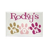 Rocky's Mom Rectangle Magnet