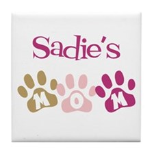 Sadie's Mom Tile Coaster