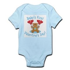BABY'S FIRST VALENTINE'S DAY Infant Bodysuit