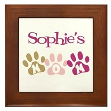 Sophie's Mom Framed Tile
