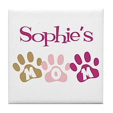 Sophie's Mom Tile Coaster