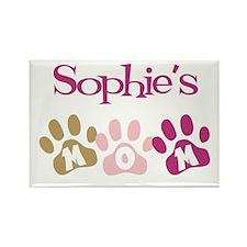 Sophie's Mom Rectangle Magnet