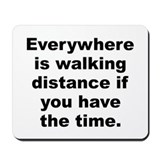 Funny Steven wright quote Mousepad
