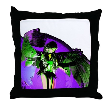 Angel Art Throw Pillow