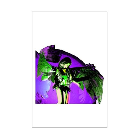 Angel Art Mini Poster Print