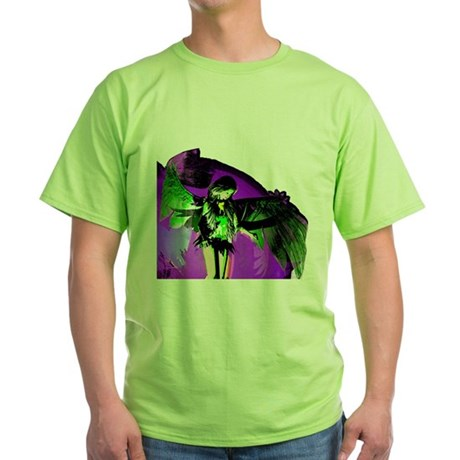 Angel Art Green T-Shirt