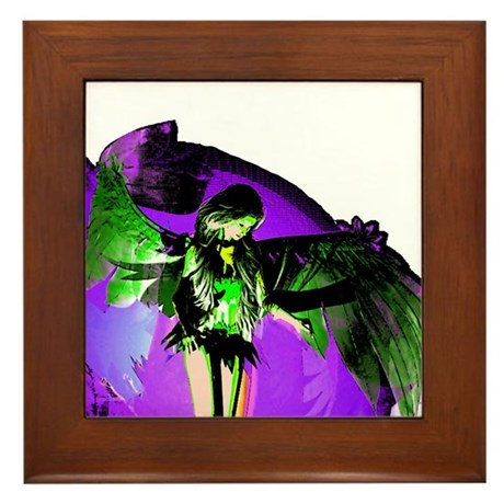 Angel Art Framed Tile
