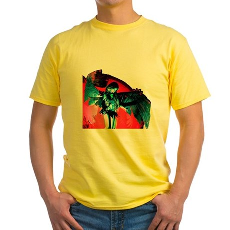 Angel Art Yellow T-Shirt