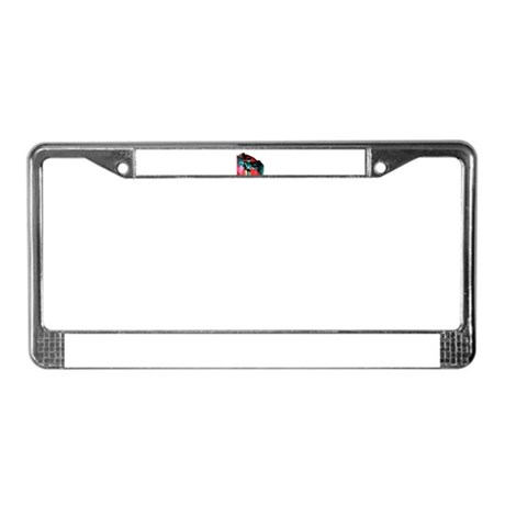 Angel Art License Plate Frame