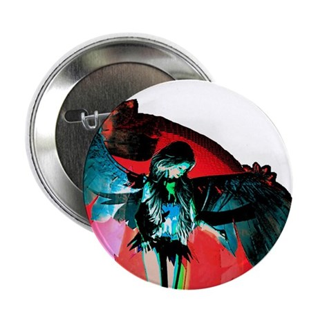 "Angel Art 2.25"" Button"