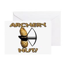Archery Nut! Greeting Card