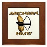 Archery Nut! Framed Tile